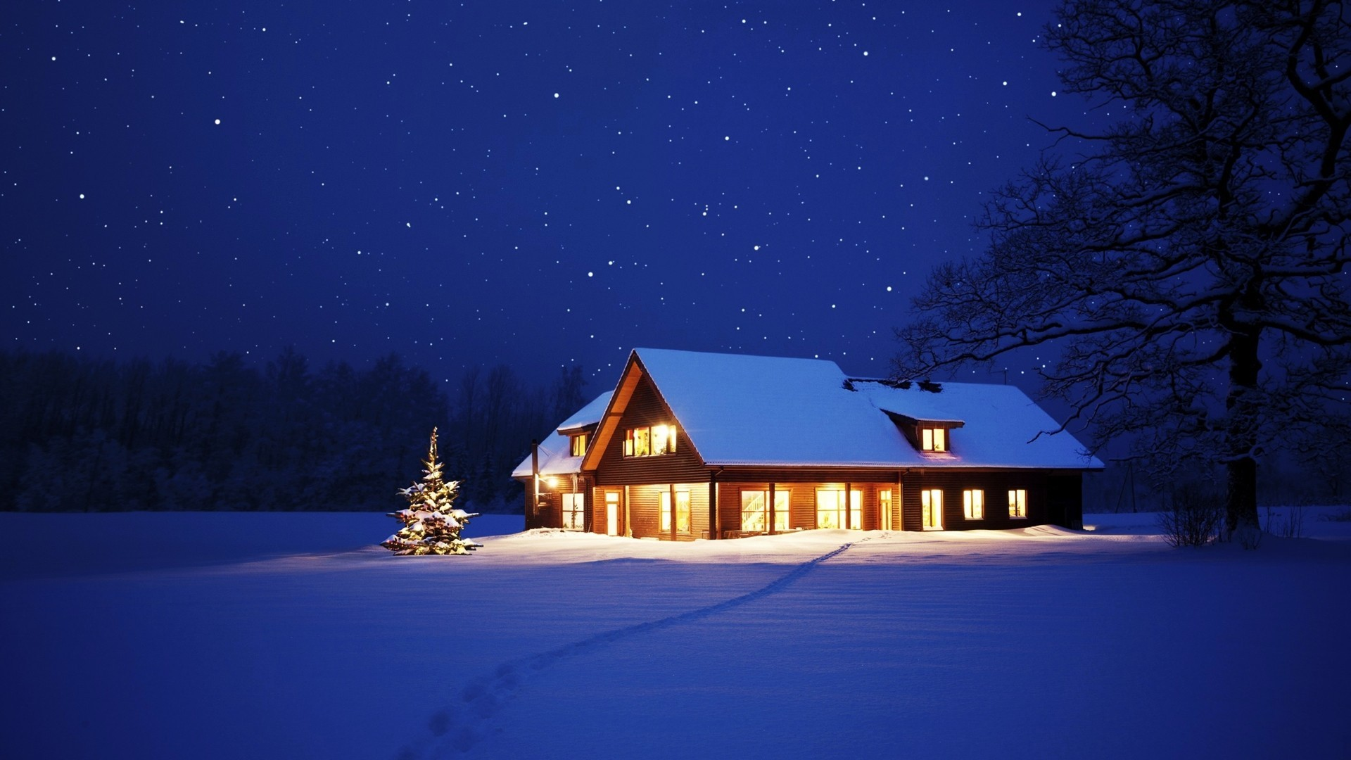 Дом и зима