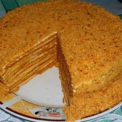 Приготовить простой торт в домашних условиях