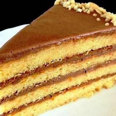 Рецепт торта со сгущенкой и фото