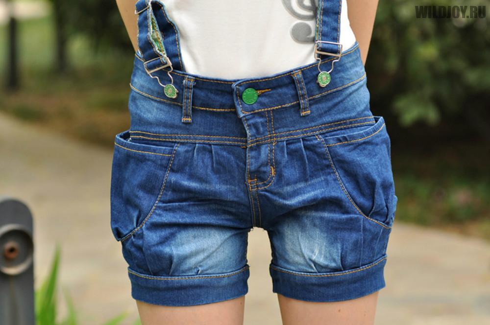 Джинсовые шорты с фото