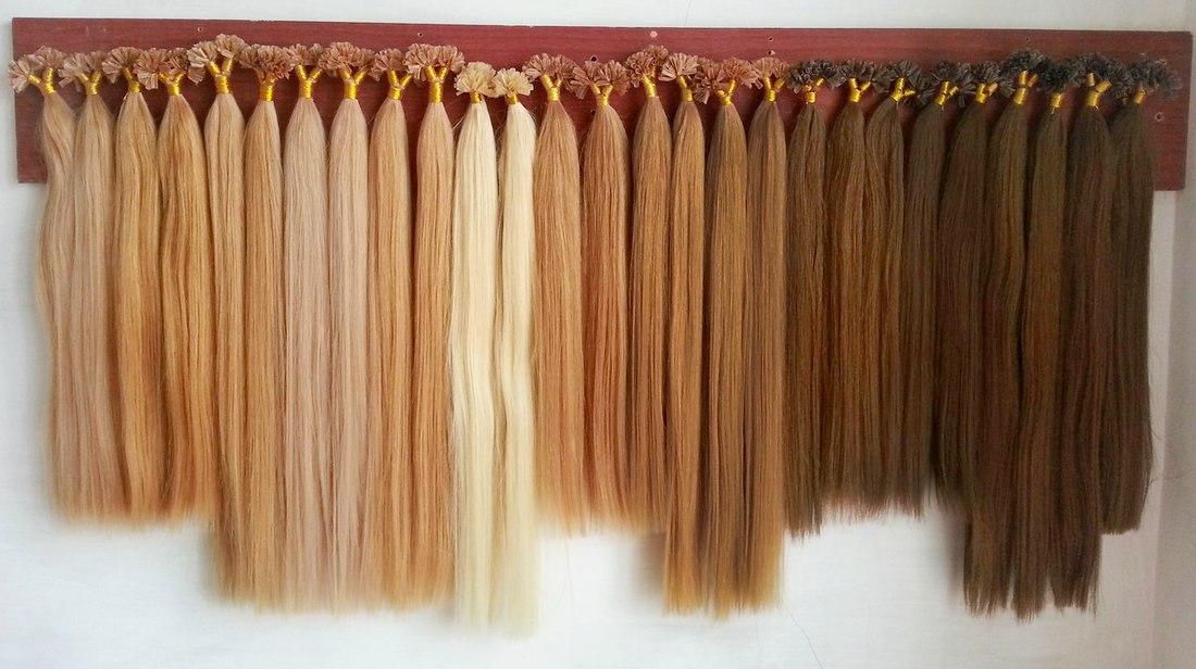 Купить натуральные волосы для наращивания недорого