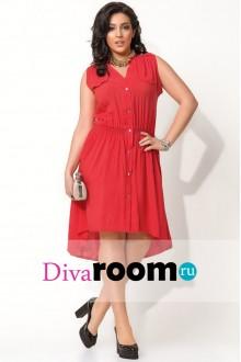 Модный дизайн платья-рубашки