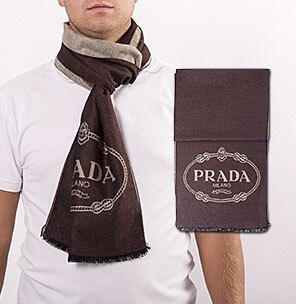 Брендовые мужские шарфы + часы в подарок