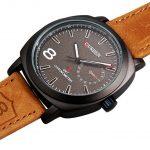 Часы Curren GMT Casual Chronometr