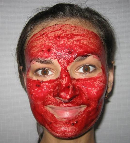 Черная смородина маска для лица