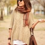 Объемный свитер
