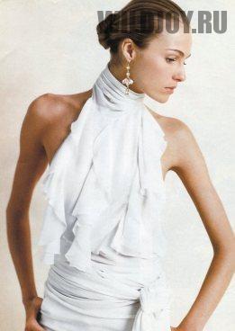 Блузка халтери