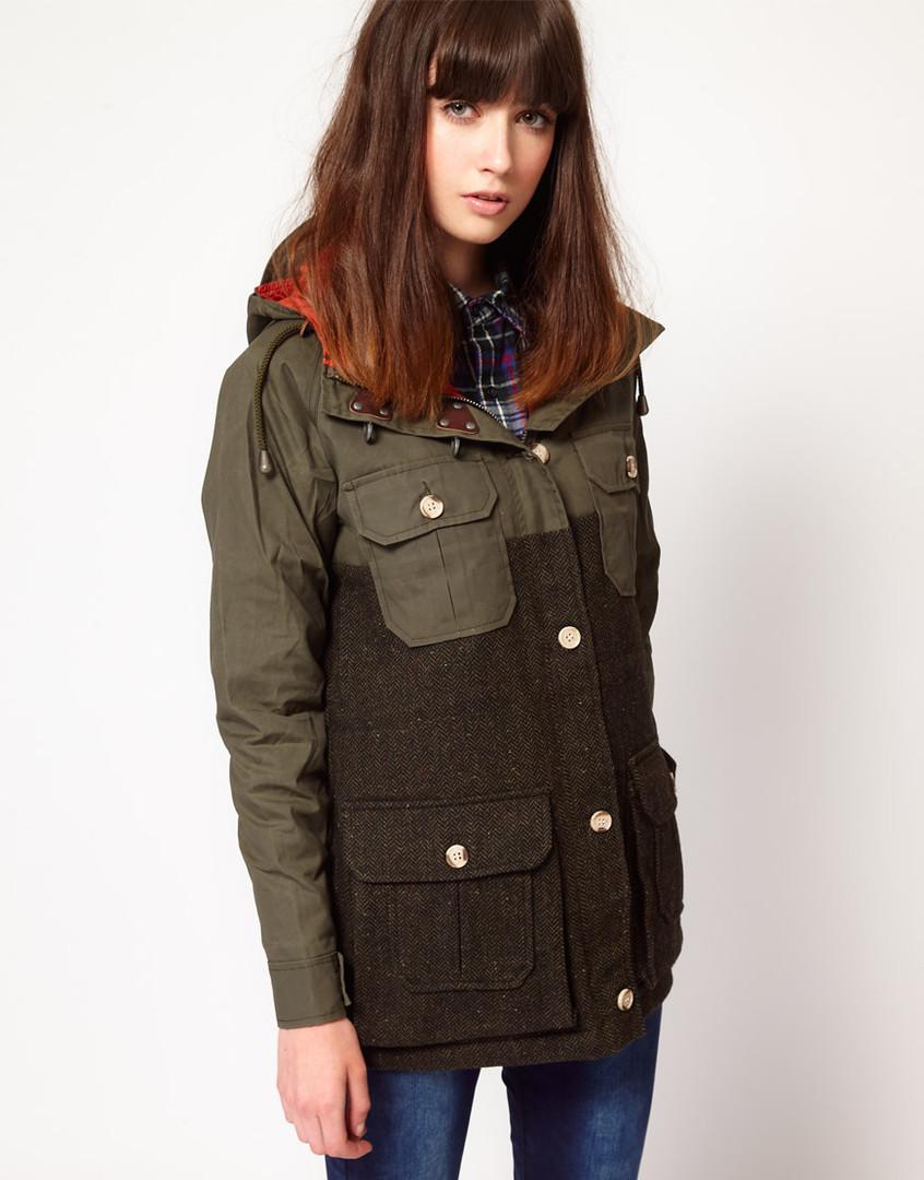 Куртка анорак женская