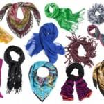Красивый шарф как дополнение стиля