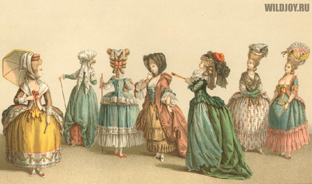платья эпохи XVIII века