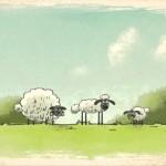 Флеш игра (онлайн, бесплатно) - Овцы идут домой
