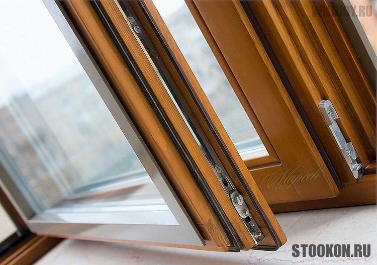 Комбинированные окна в квартиру