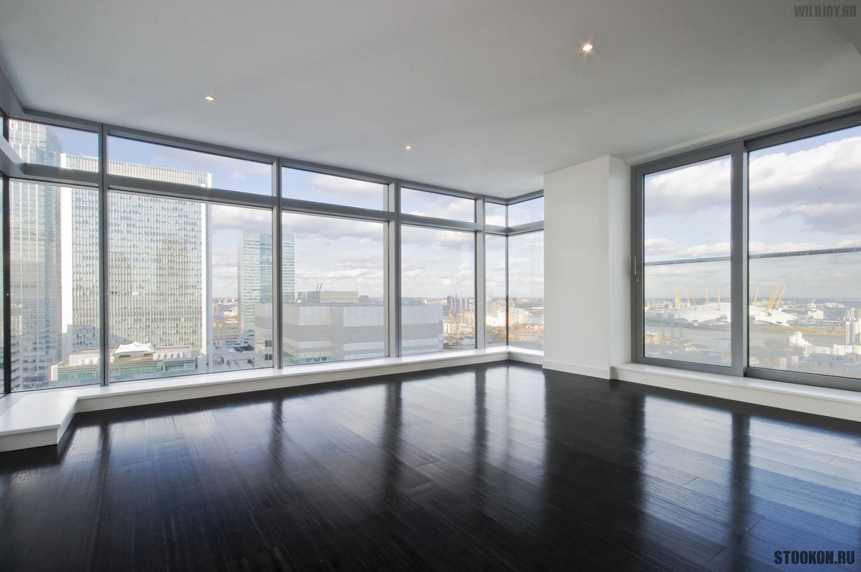 Алюминиевые окна в квартиру