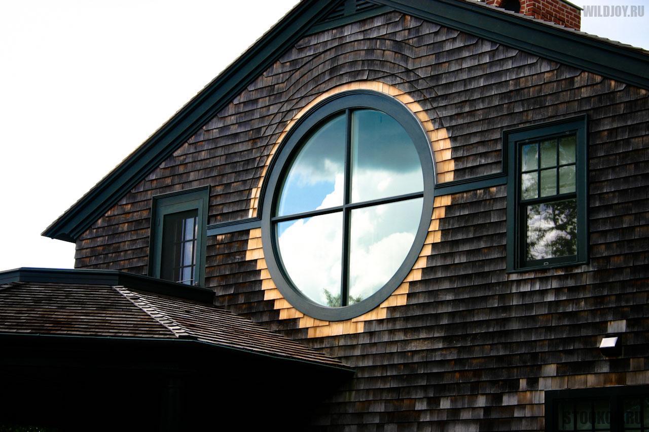 Круглые окна