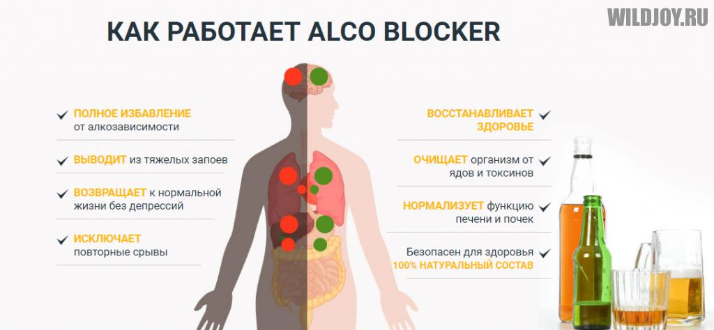 Alco Blocker капли против алкоголизма. Ваши рекомендации и отзывы
