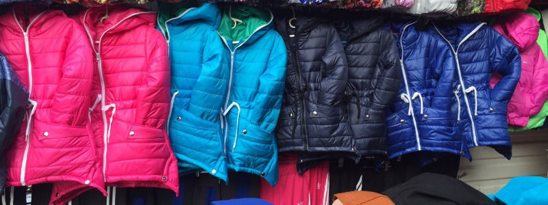 Куртки парки оптом