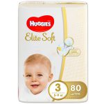 Подгузники Huggies Elite Soft 3 (5-9 кг) 80 шт